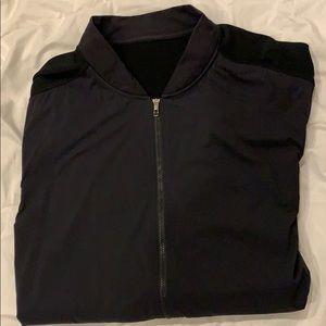 Lulu light jacket. All black